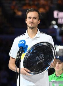 Daniil Medvedev runner up Australian Open 2021