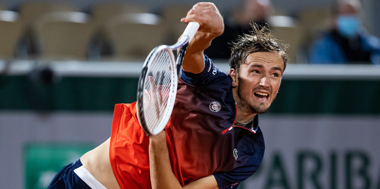 Daniil Medvedev French Open 2020