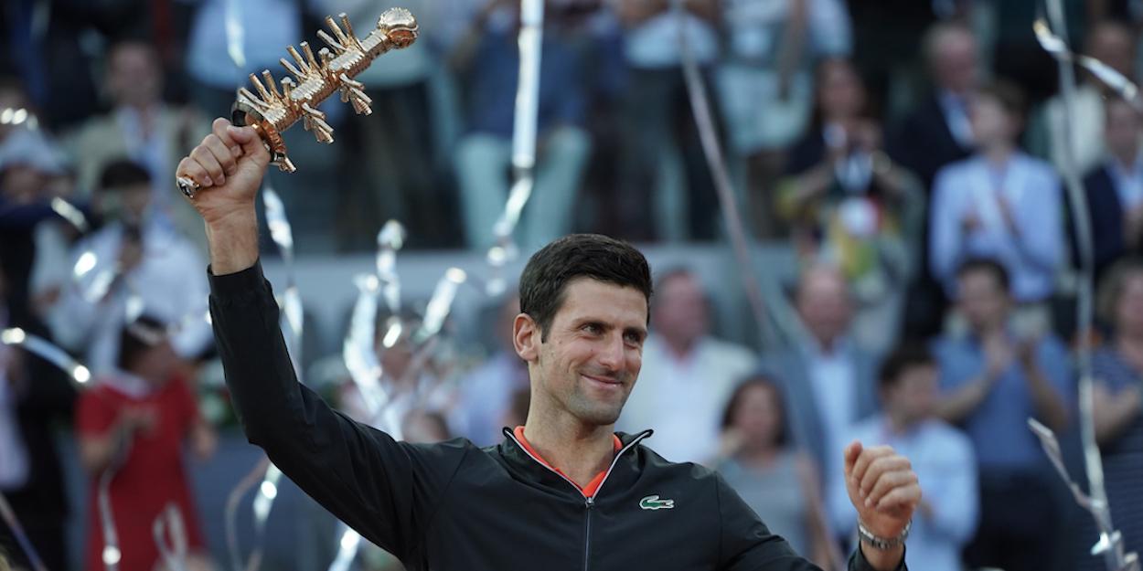 Novak Djokovic Madrid Masters 2019