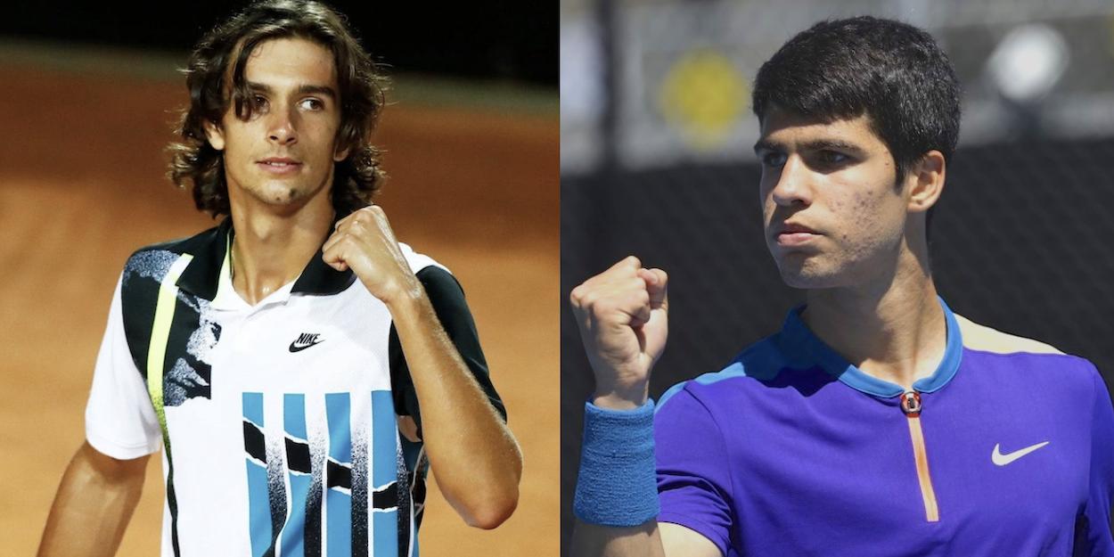 Musetti Alcaraz Federer Nadal