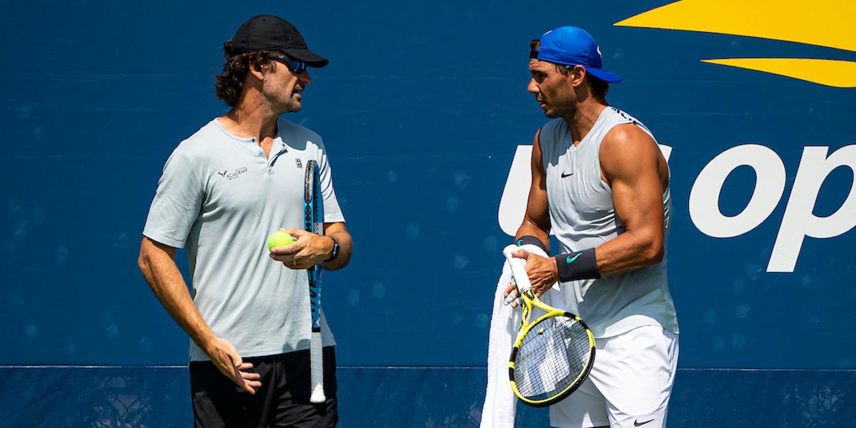 Rafael Nadal Carlos Moya US Open 2019