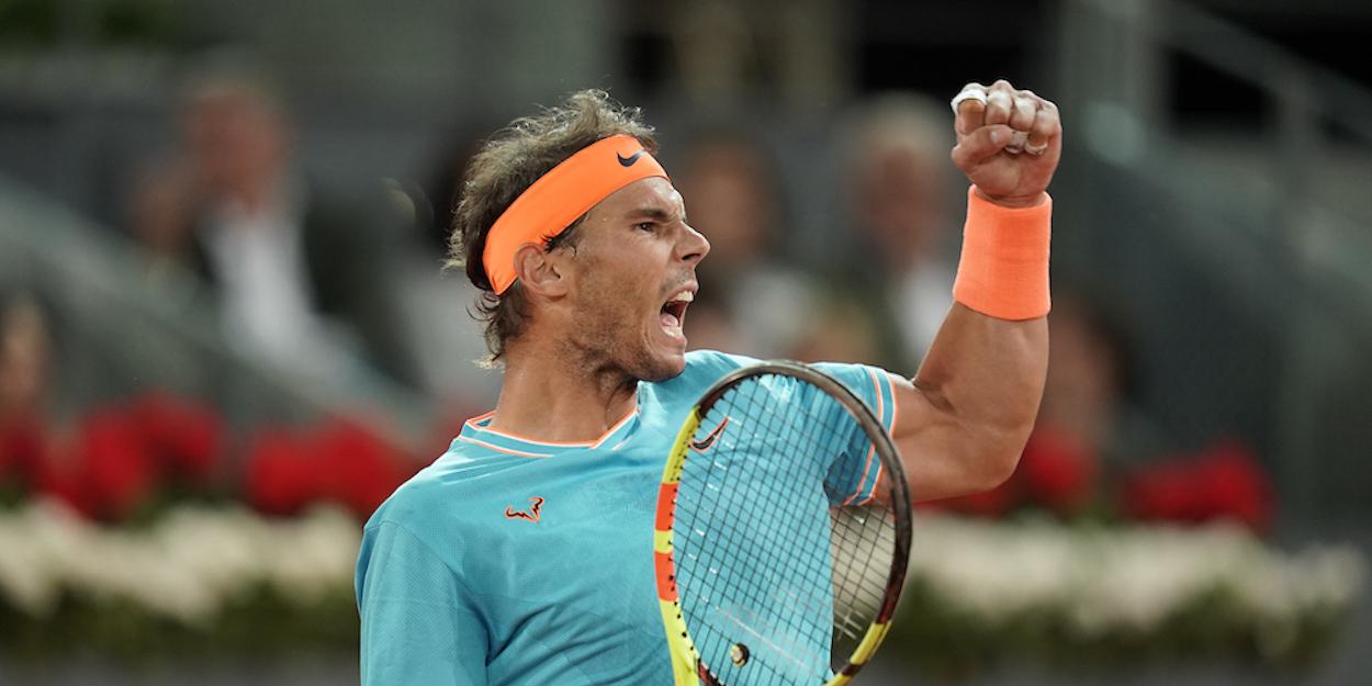 Rafael Nadal Madrid Masters 2019