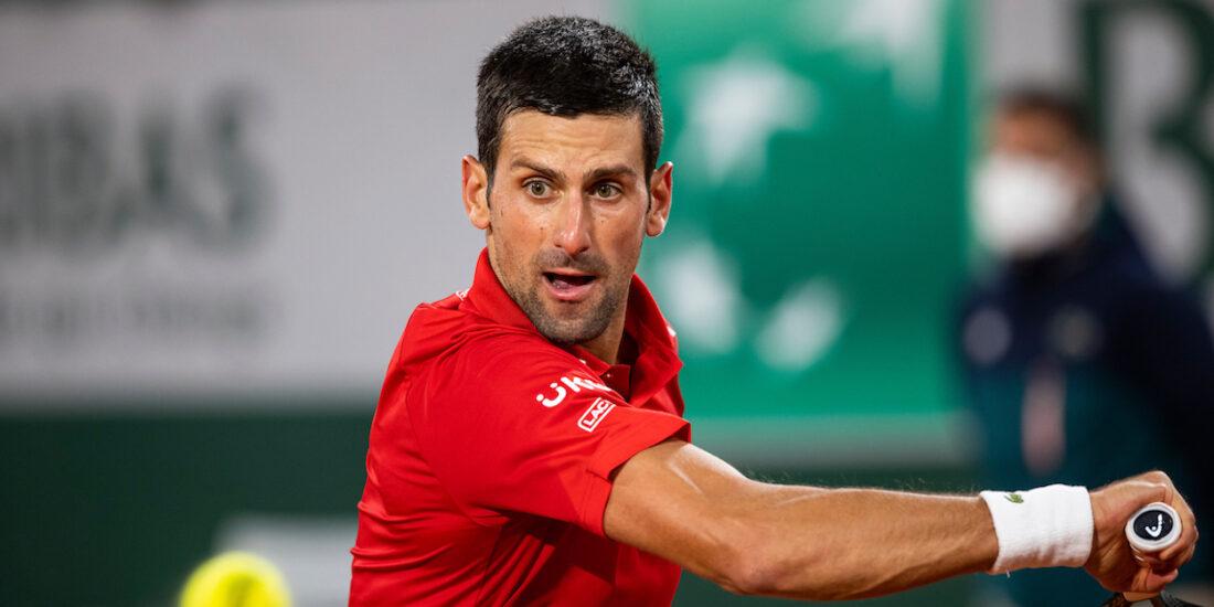 Novak Djokovic Roland Garros 2020