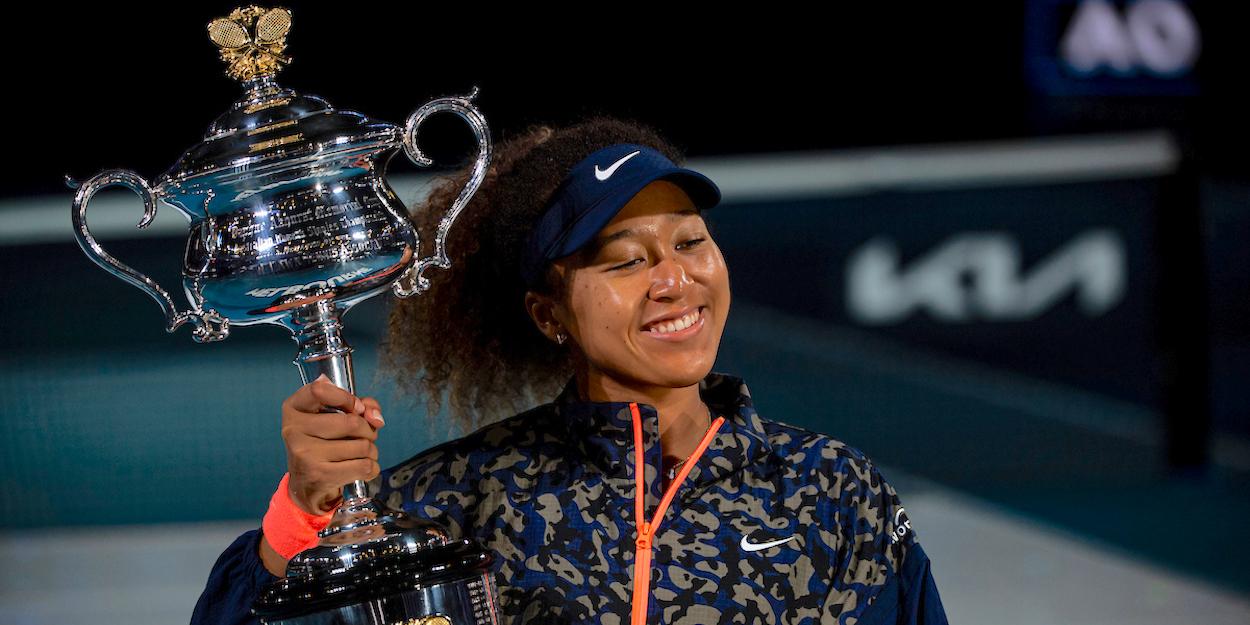 Naomi Osaka Australian Open Champion 2021