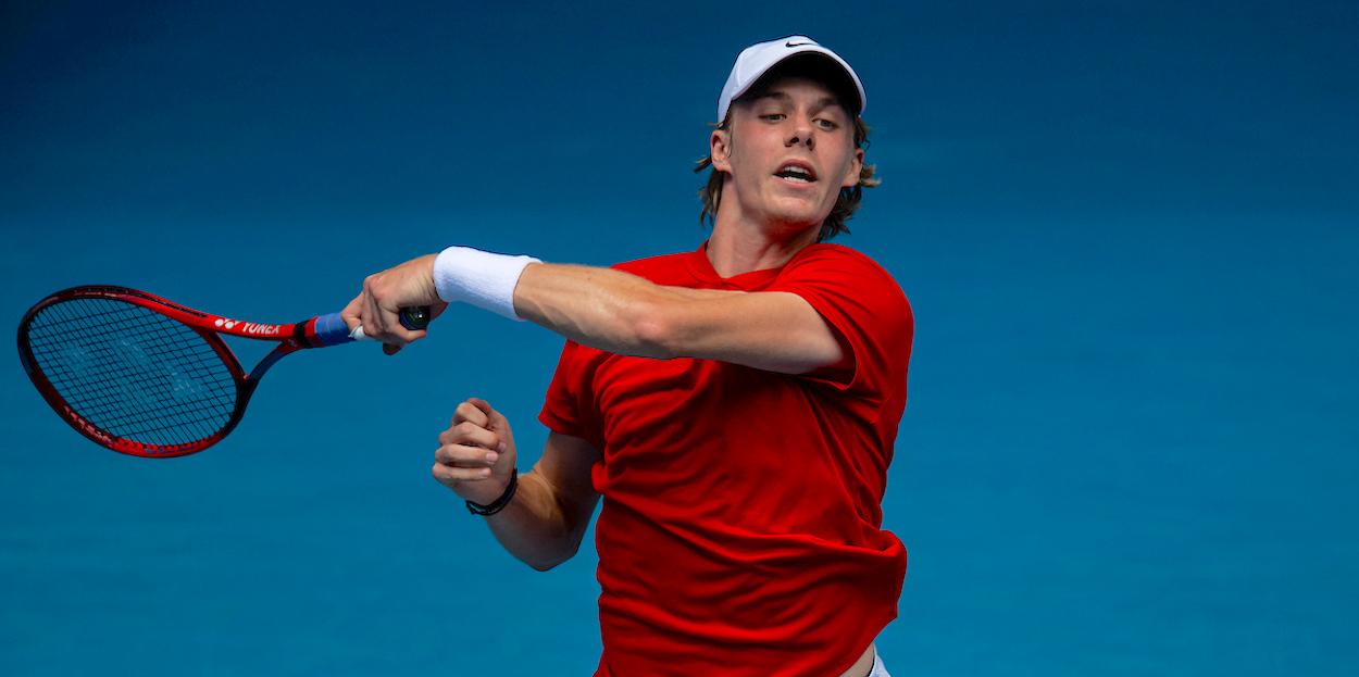 Denis Shapovalov Australian Open series 2021