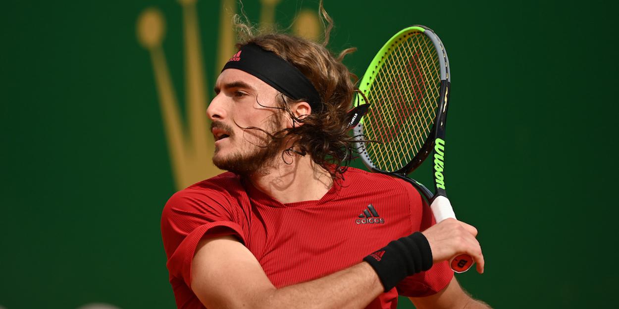 Stefanos Tsitsipas Monte Carlo Masters 2021