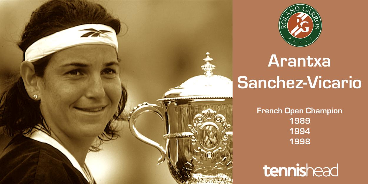 Arantxa Sanchez Vicario French Open