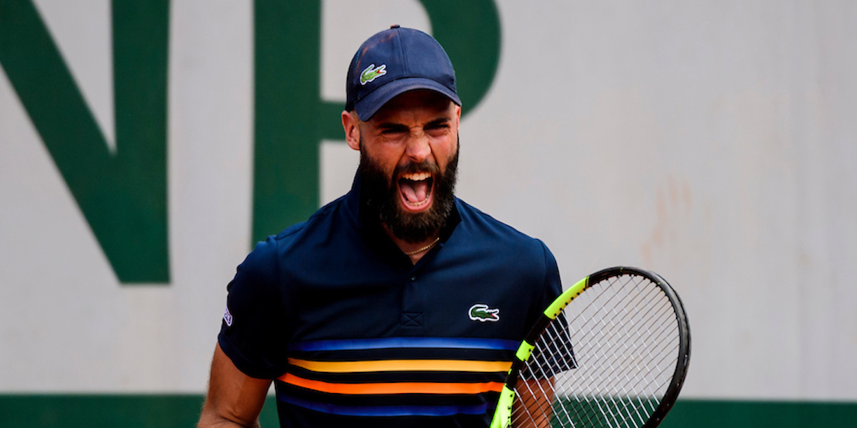Benoit Paire French Open 2019