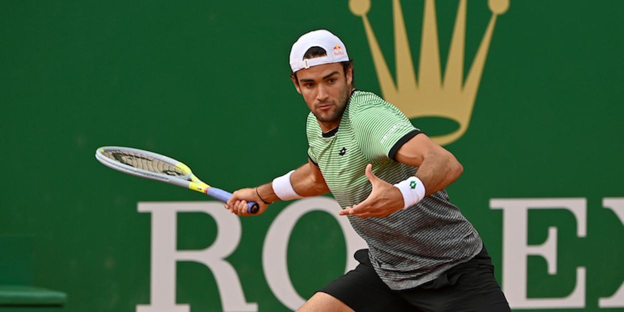 Matteo Berrettini Monte Carlo Masters 2021