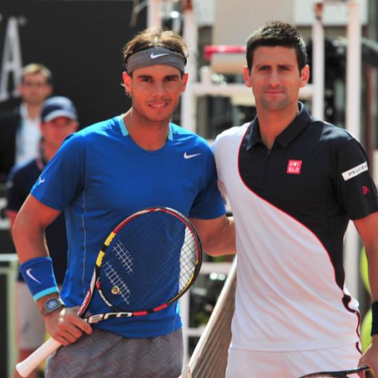 Djokovic Nadal Rome