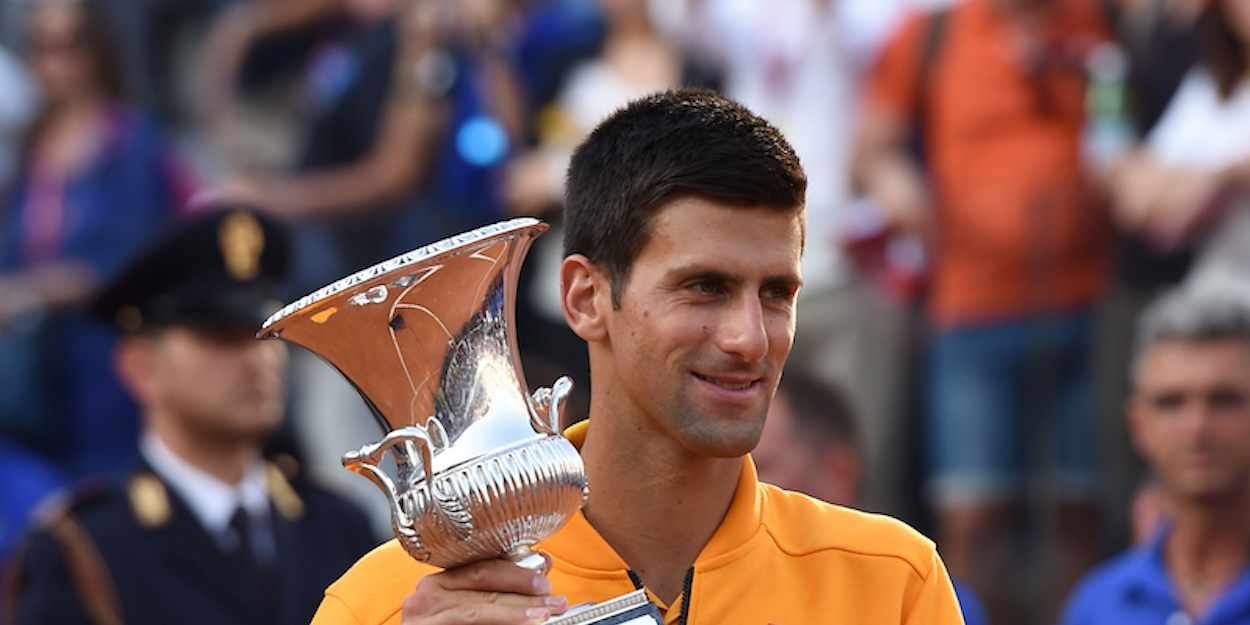 Novak Djokovic Italian Open 2015