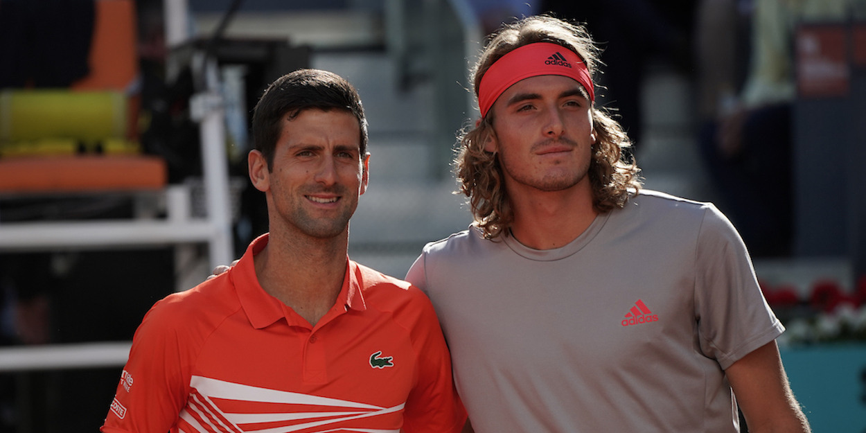 Tsitsipas Djokovic Madrid 2019