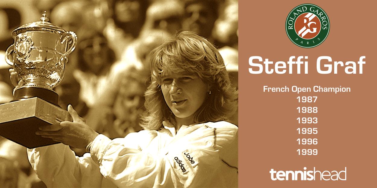 Steffi Graff French Open