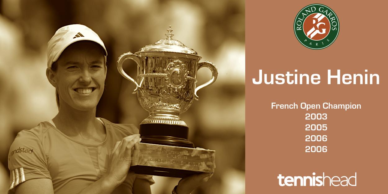 Justine Henin-Hardenne French Open