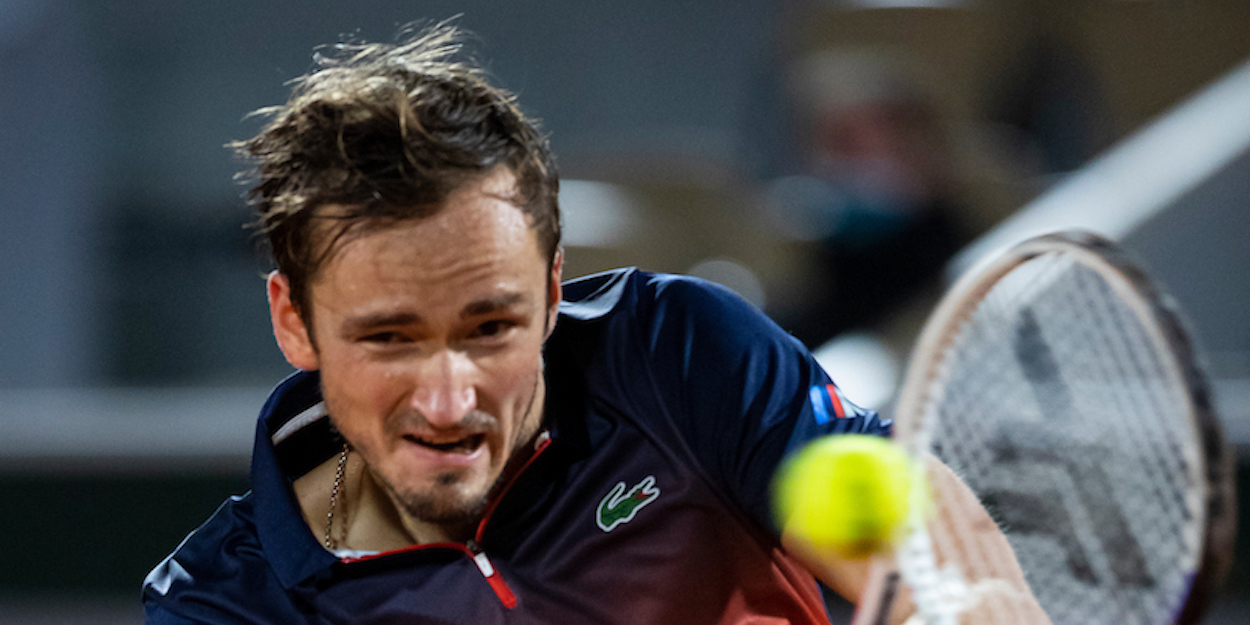 Daniil Medvedev French Open 2020