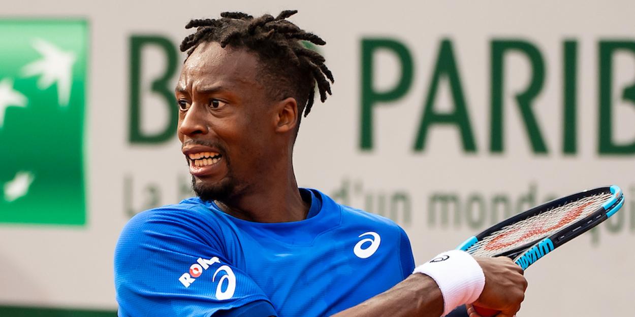Gael Monfils Roland Garros 2019