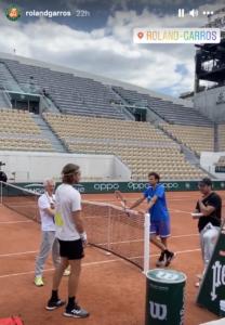 Thiem Tsitsipas meet French Open 2021