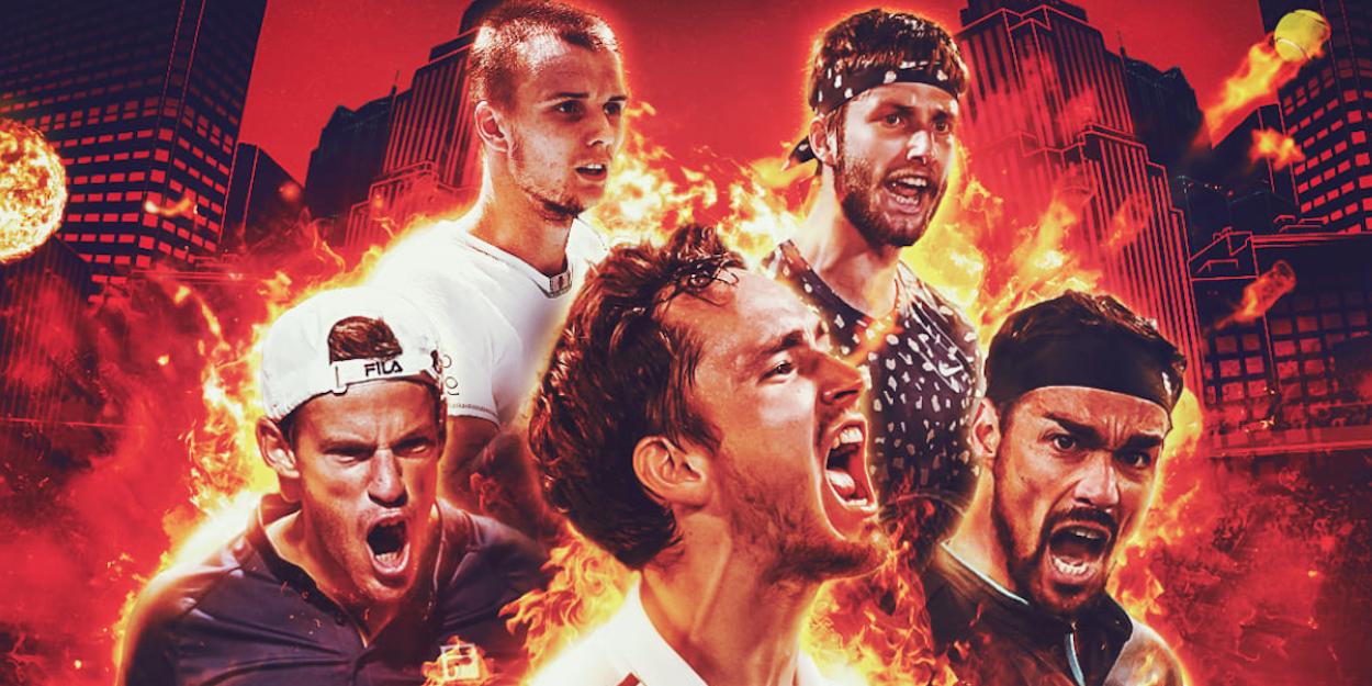 Ultimate Tennis Showdown Grigor Dimitrov 2021