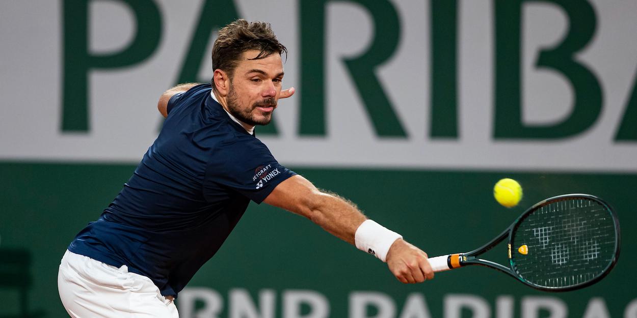 Stan Wawrinka French Open 2020