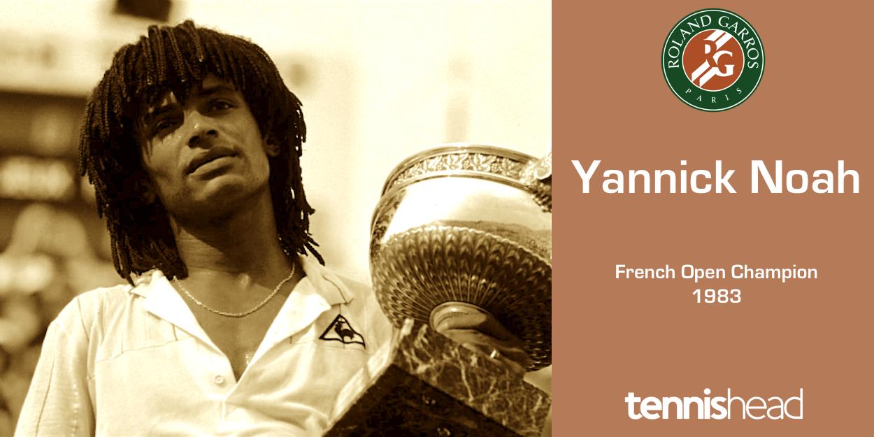 Yannick Noah French Open