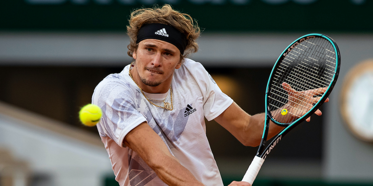Alexander Zverev French Open 2020