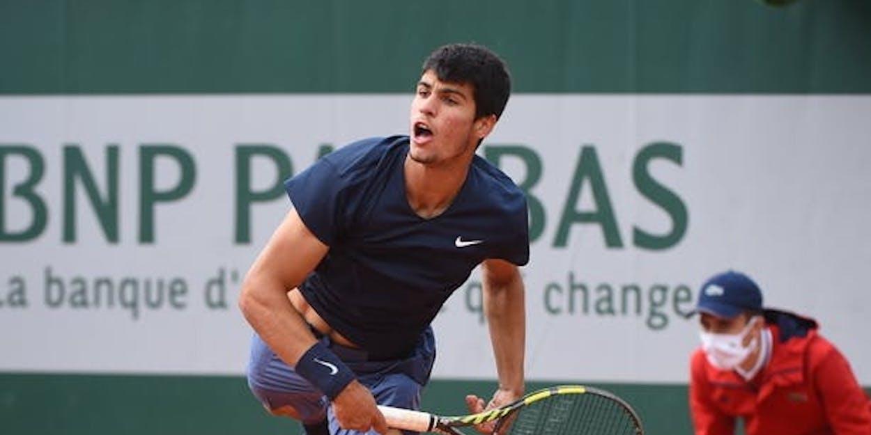 Carlos Alcaraz French Open 2021