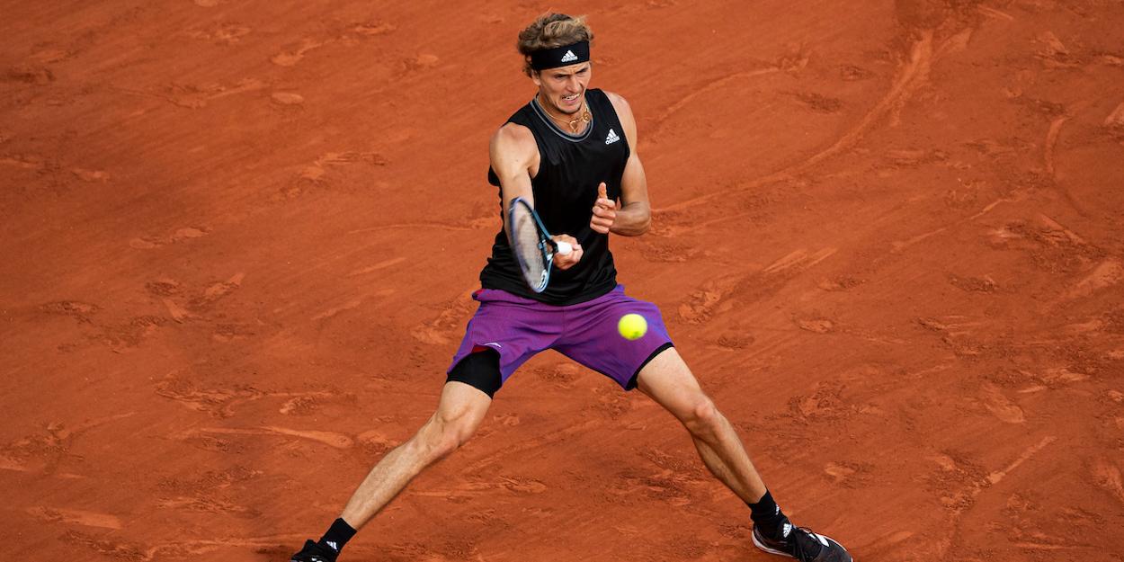 Alexander Zverev French Open 2021