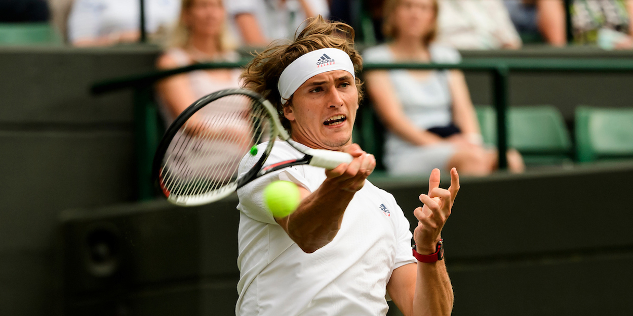 Alexander Zverev Wimbledon 2018