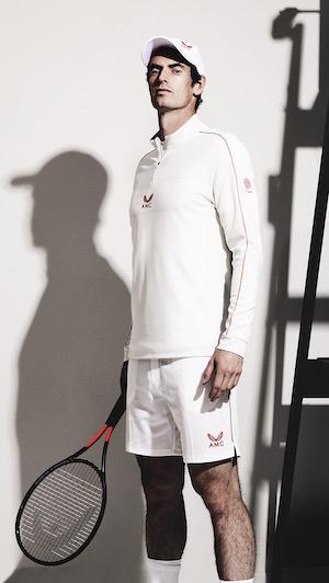 Andy Murray Castore Woolmark