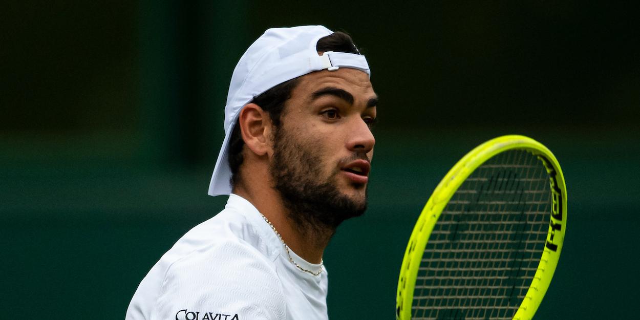 Matteo Berrettini Wimbledon 2019