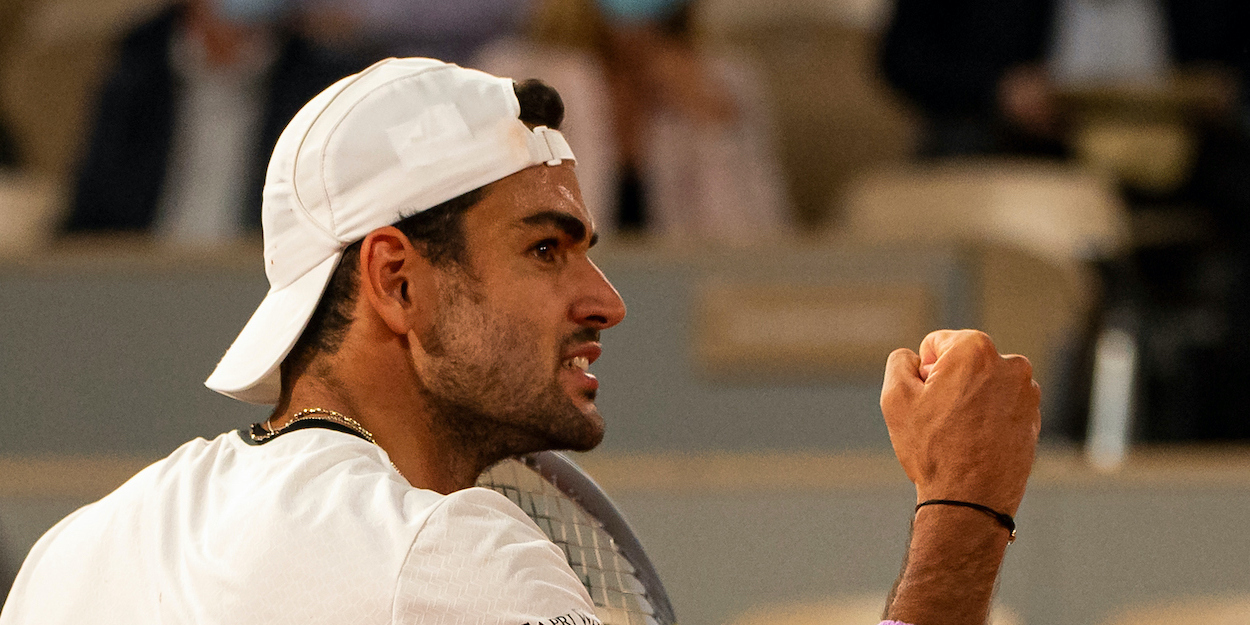Matteo Berrettini French Open 2021