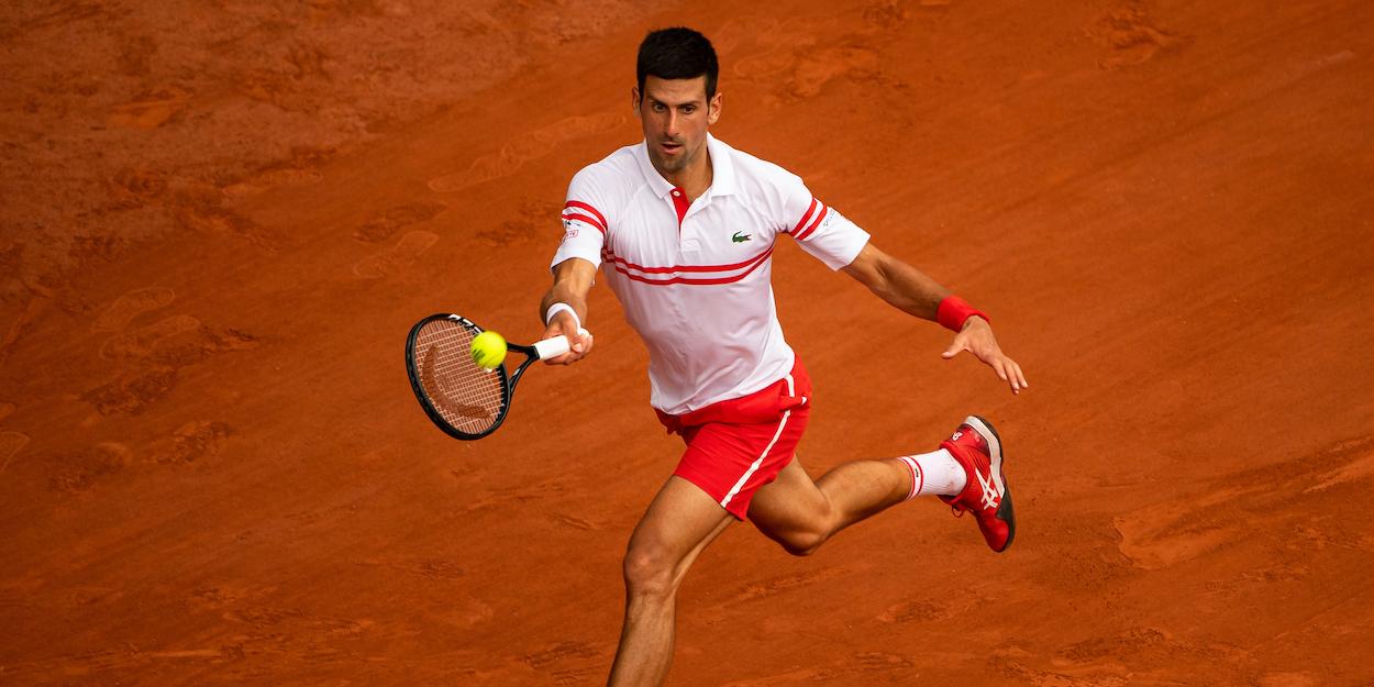 Djokovic French Open 2021