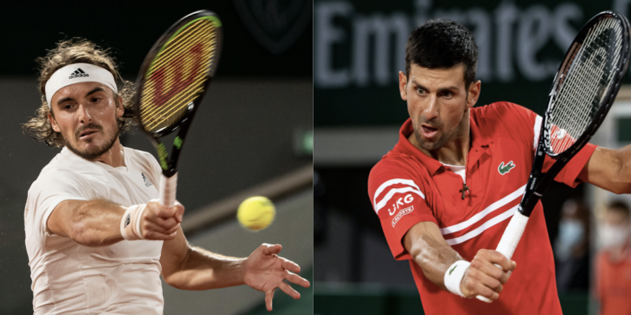 Djokovic Tsitsipas French Open 2021