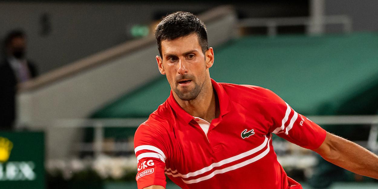 Novak Djokovic French Open 2021