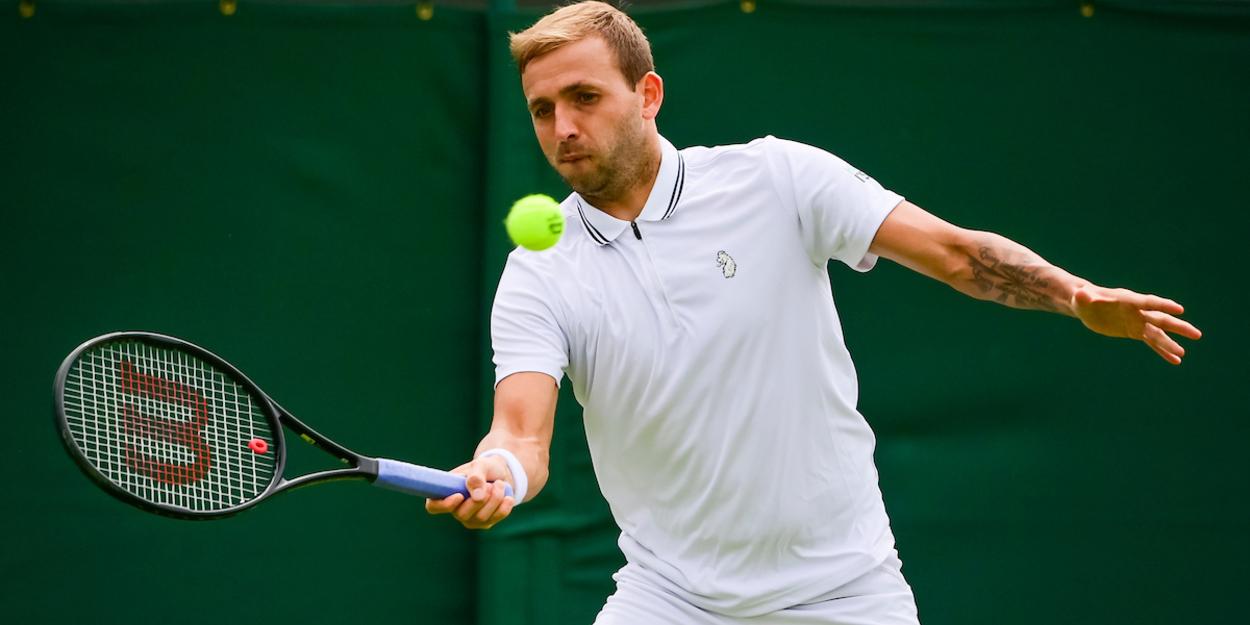 Dan Evans Wimbledon