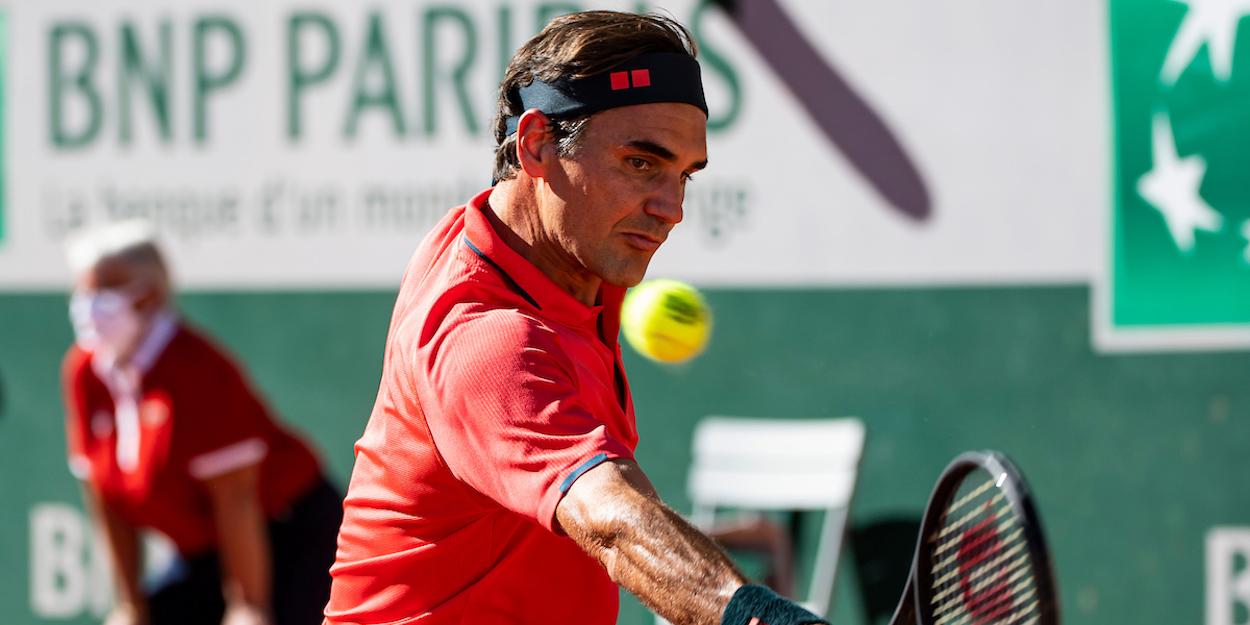 Federer French Open 2021
