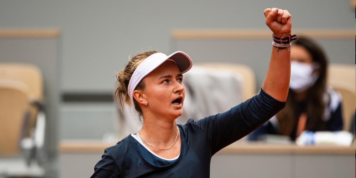 KREJCIKOVA Roland Garros 2021 Novotna