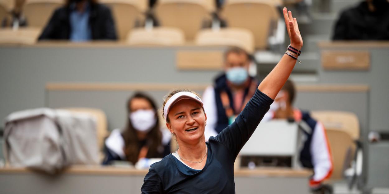 KREJCIKOVA Roland Garros 2021 French Open