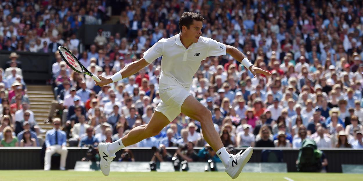 Milos Raonic - Wimbledon