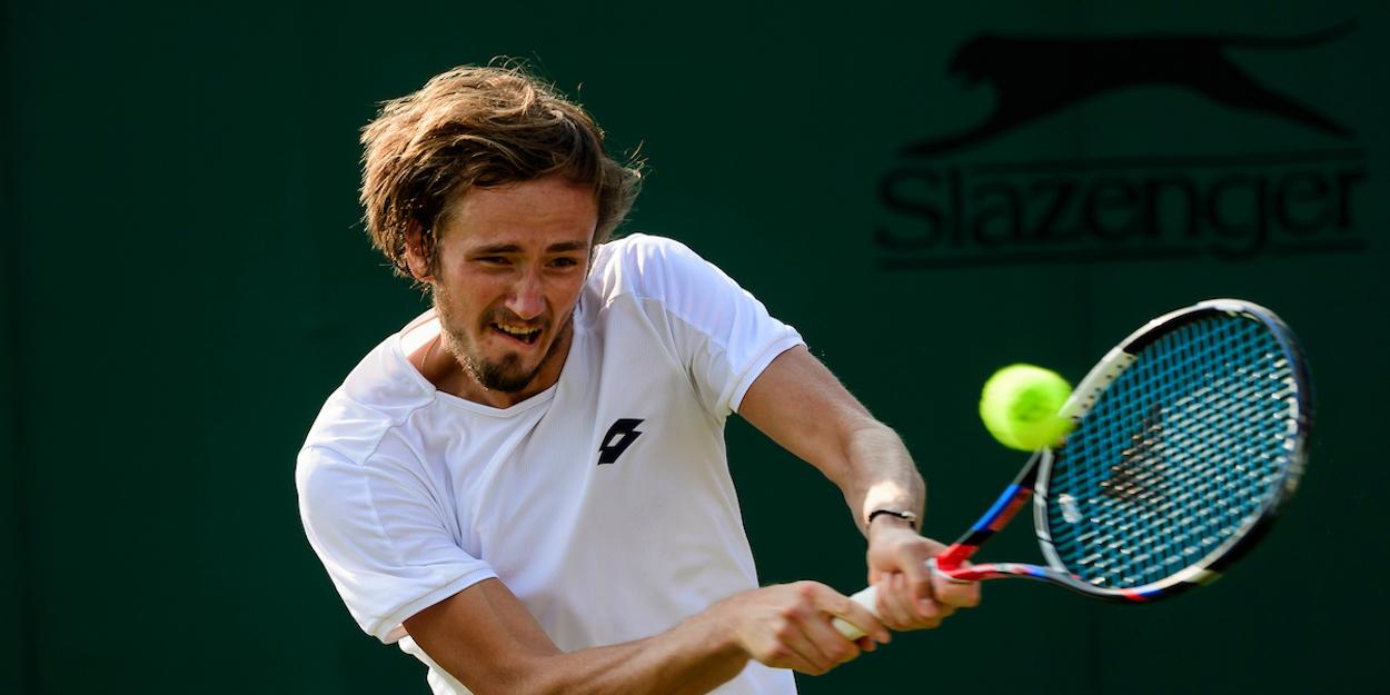 Medvedev Wimbledon 2018