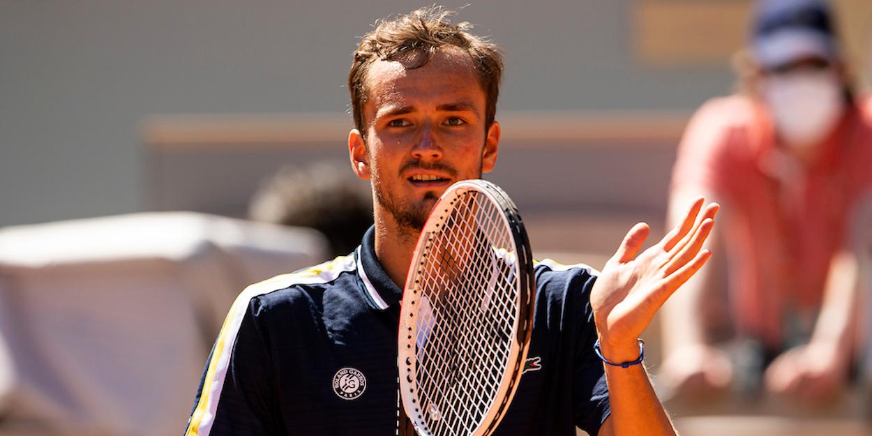 Daniil Medvedev French Open 2021