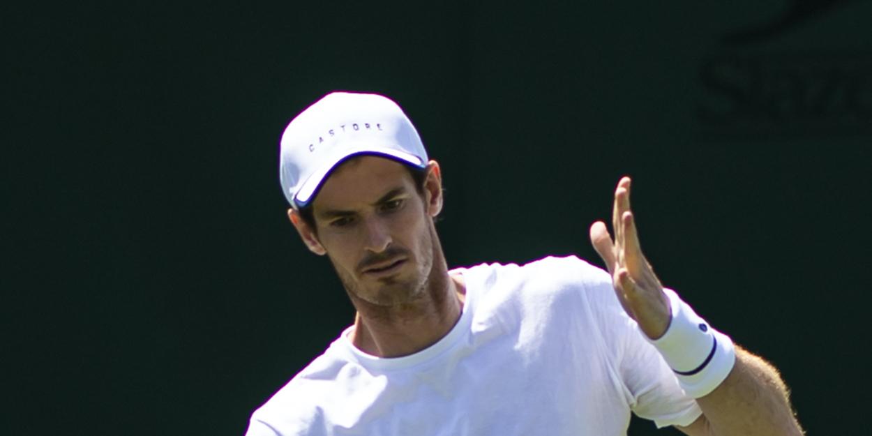 Andy Murray Wimbledon 2019