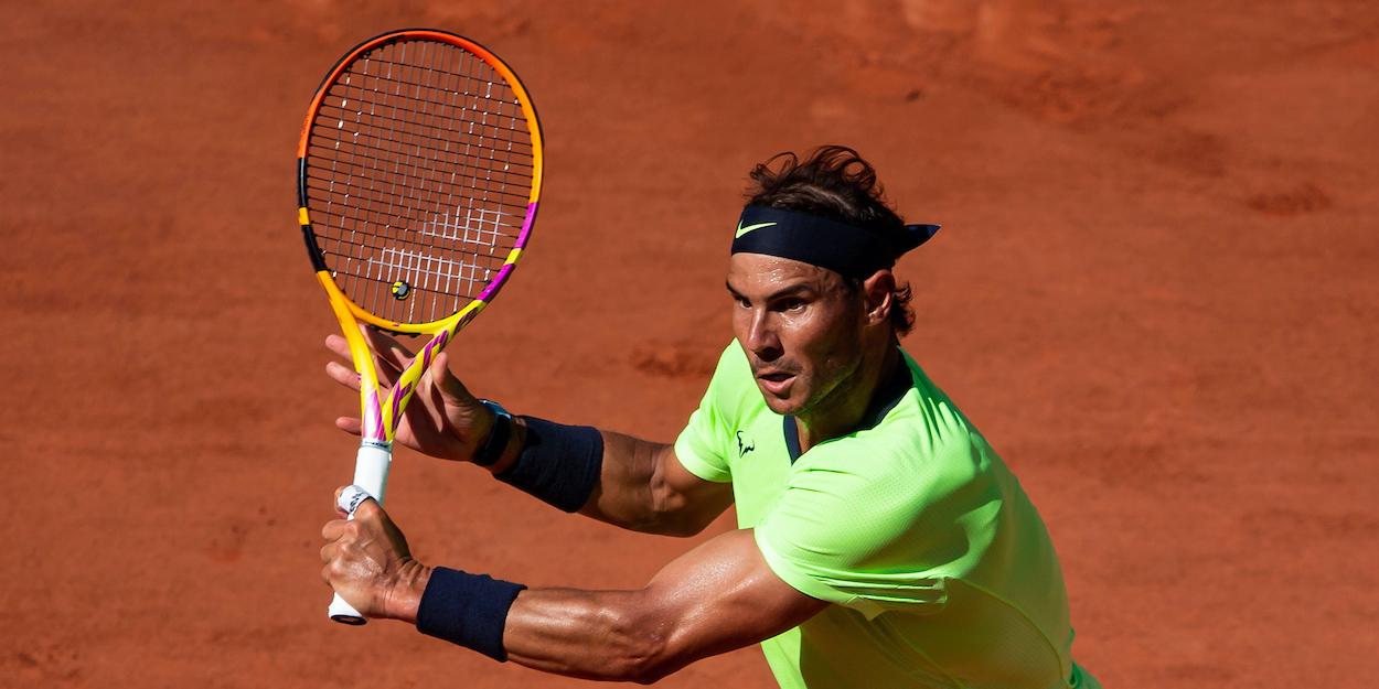 Rafael Nadal French Open 2021 Djokovic