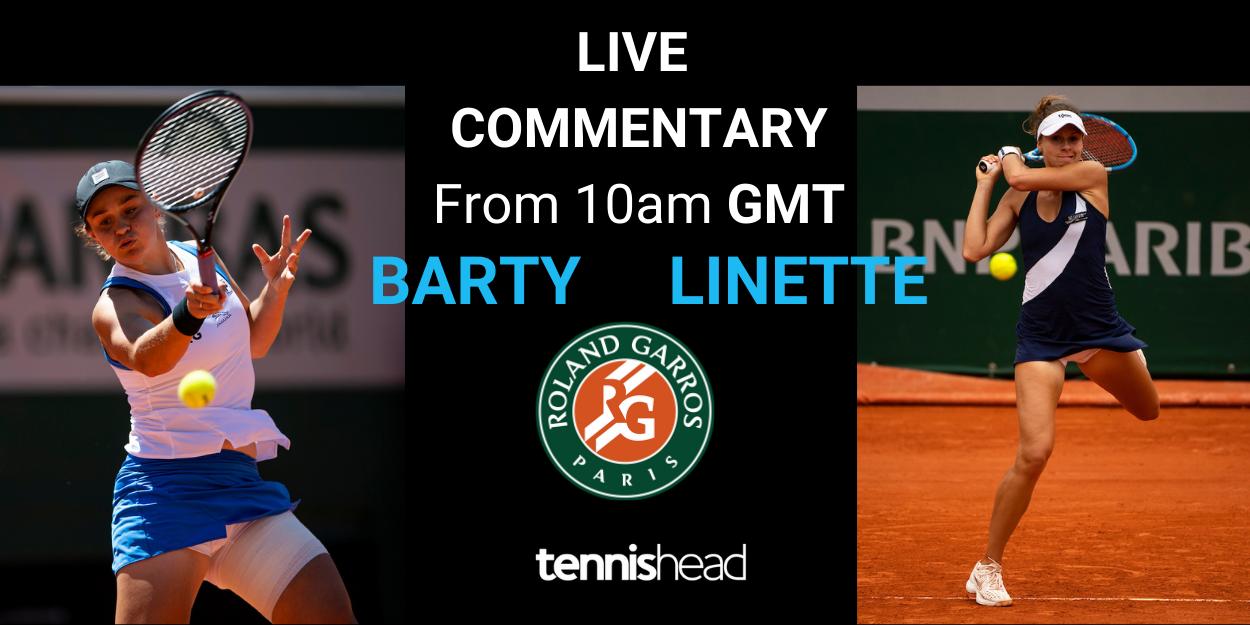 Barty vs Linette