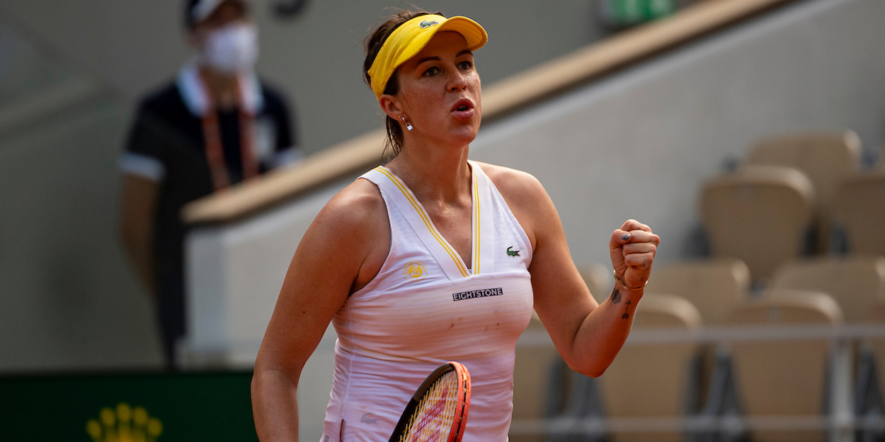 Pavlyuchenkova Roland Garros 2021