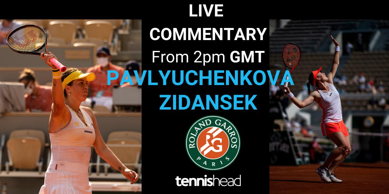 Pavlyuchenkova vs Zidansek