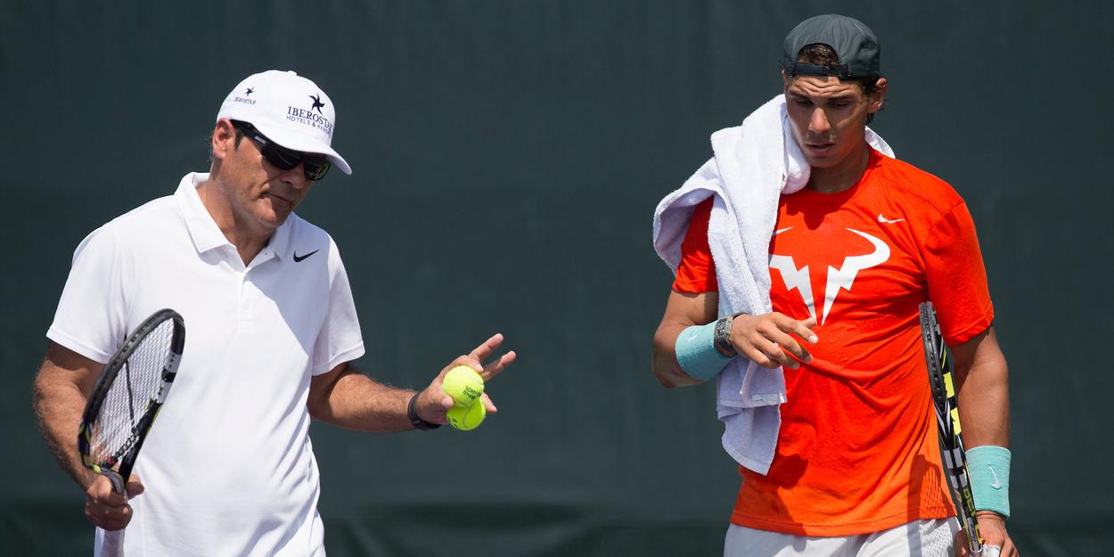 Toni and Rafael Nadal Djokovic