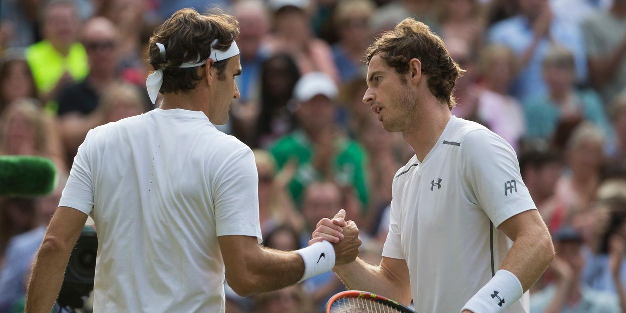 Andy Murray Roger Federer Wimbledon