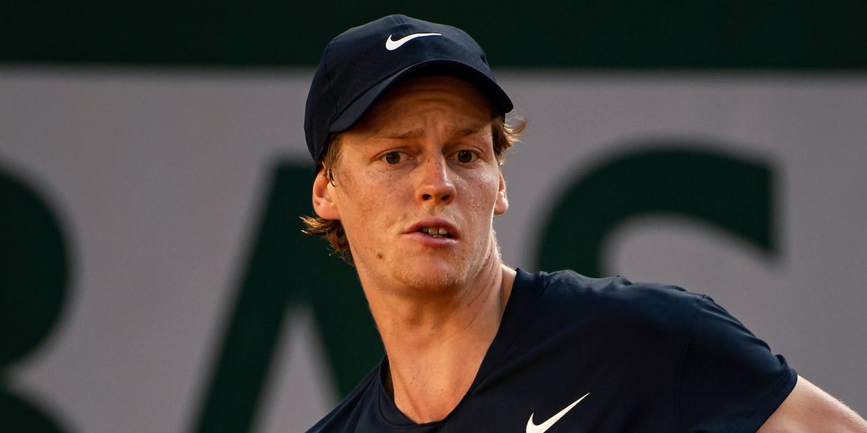 Jannik Sinner French Open 2021