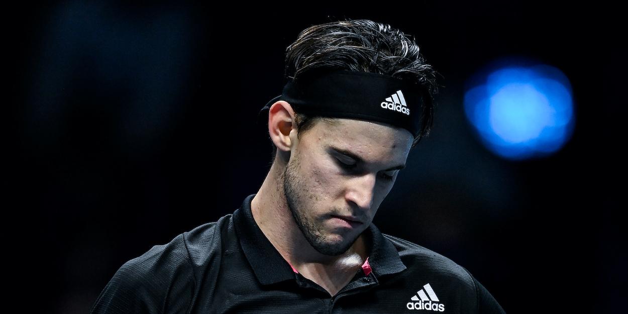 Dominic Thiem ATP Finals 2020